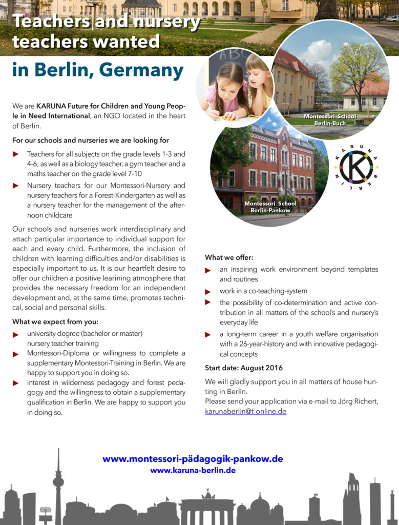 Teachers-and-nursery-teachers-wanted-in-Berlin_Germany