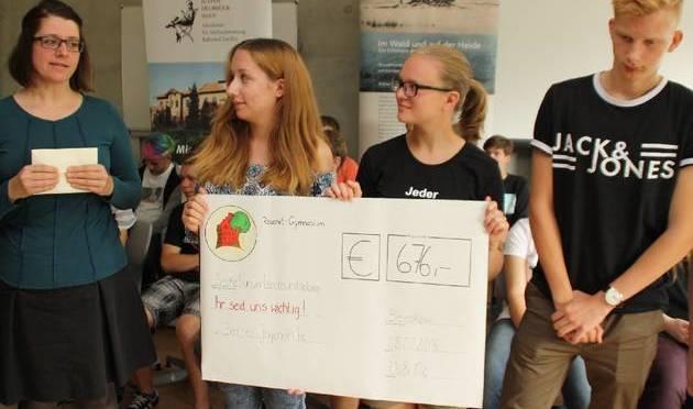 Schüler unterstützen Justus Delbrück Haus